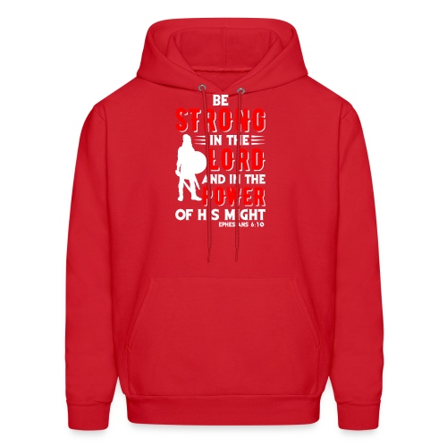 Strength of The Lord - Men's Hoodie