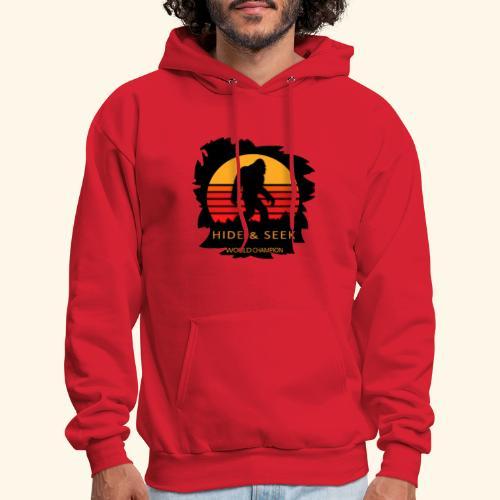Hide And Seek World Champion T-shirt Bigfoot - Men's Hoodie