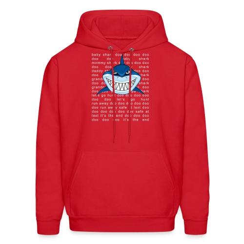 Shark T-shirt Doo Doo Doo - Father's Day Gift Tee - Men's Hoodie