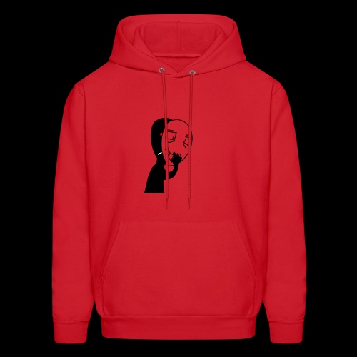 The mask of hiding emotions - Men's Hoodie