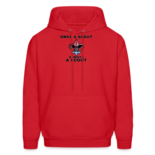 Once A Scout Always A Scout - Men's Hoodie