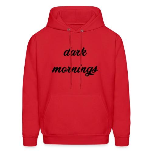 Dark Mornings Logo - Men's Hoodie
