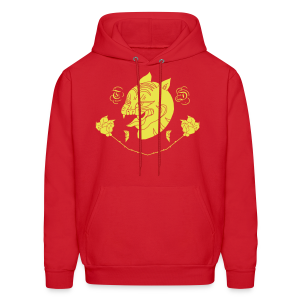 Panthers and Petals - Men's Hoodie