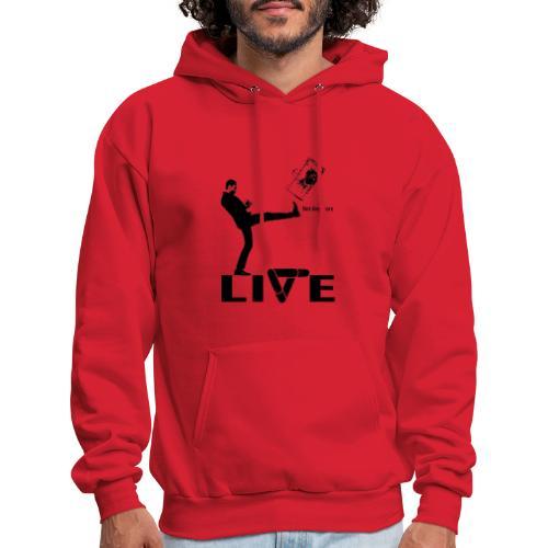 live - Men's Hoodie
