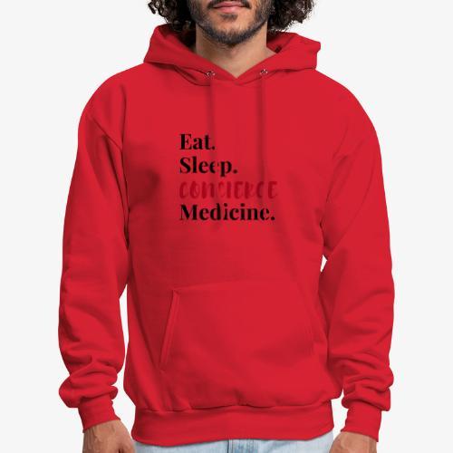 Eat Sleep Concierge Medicine - red - Men's Hoodie