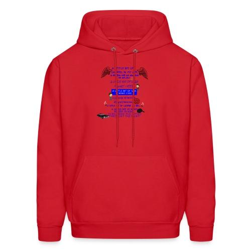 Supernatural song spoof shirt - Men's Hoodie