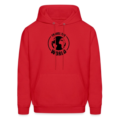 travel the world by Own T-shirt Designs - Men's Hoodie
