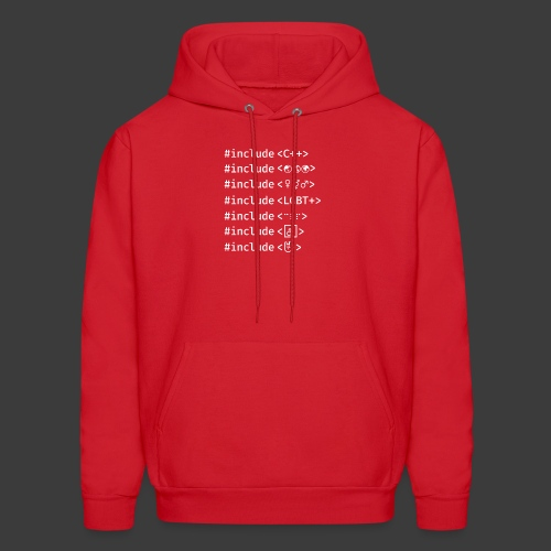 White Include List - Men's Hoodie