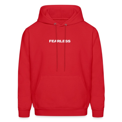 motivation & inspiration for fearless - Men's Hoodie