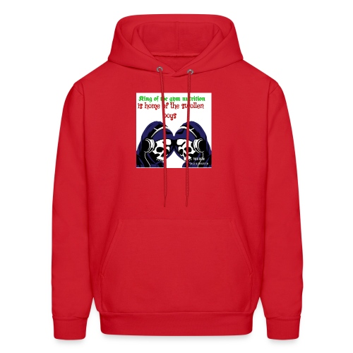 King of the gym nutrition - Men's Hoodie