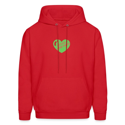 Rescue Don't Breed 2 - Men's Hoodie