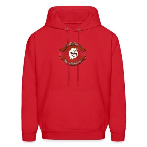 Lion t-shirt - Men's Hoodie