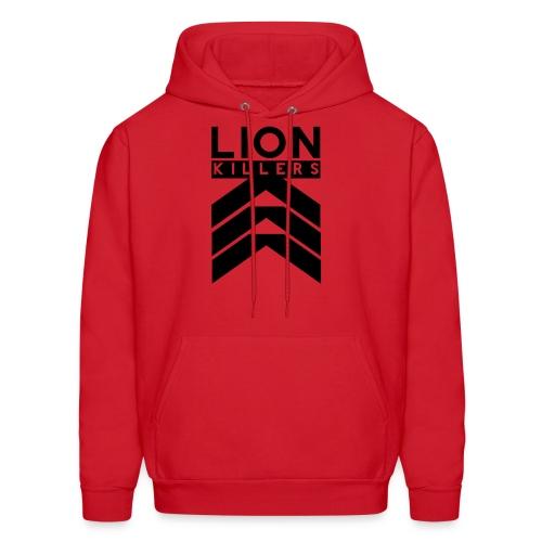 Lion Killers Logo - Red Range - Men's Hoodie