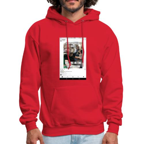 Stop shooting idiot we are in the same team - Men's Hoodie