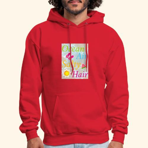 Ocean Air Salty Hair - Men's Hoodie