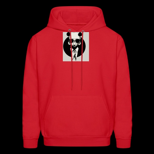 A dressed up panda - Men's Hoodie