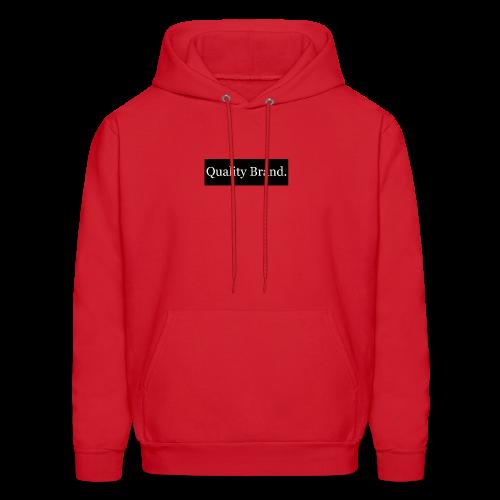 Quality Brand - White - Men's Hoodie