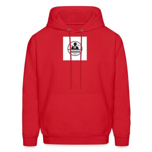 gangster logo design logo free design gangster log - Men's Hoodie