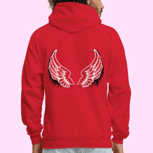 Dark drip wings - Men's Hoodie
