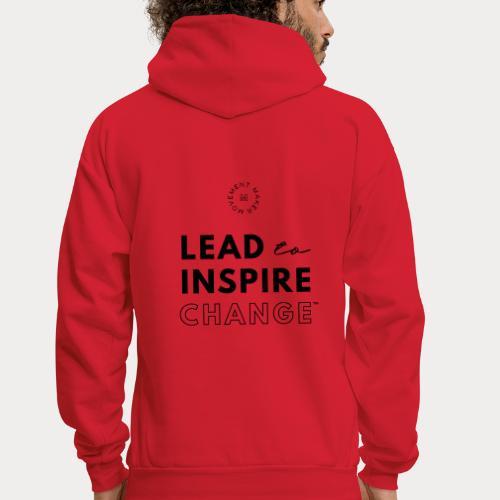Lead. Inspire. Change. - Men's Hoodie