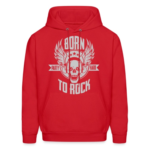 Born To Rock - Men's Hoodie