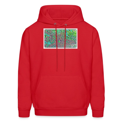 Heart in nature picture - Men's Hoodie