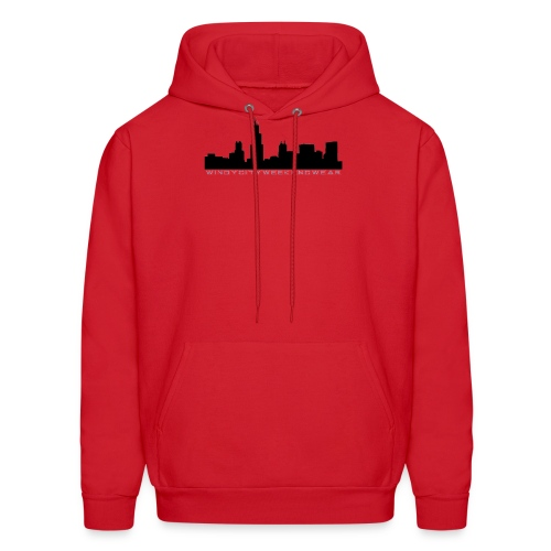 City Box Logo - Men's Hoodie