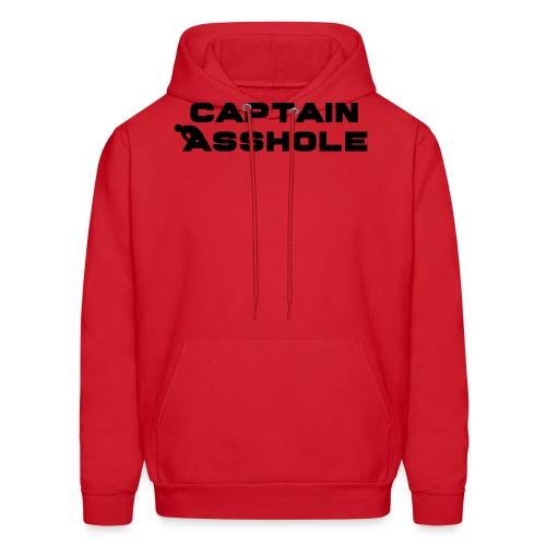 Captain A-hole - Men's Hoodie