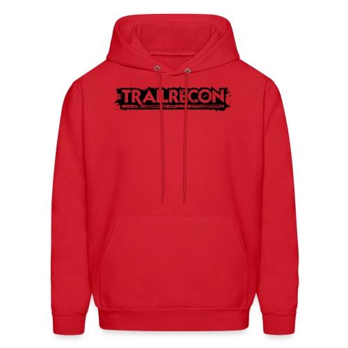 Handover Logo Trailrecon Black trimmed - Men's Hoodie