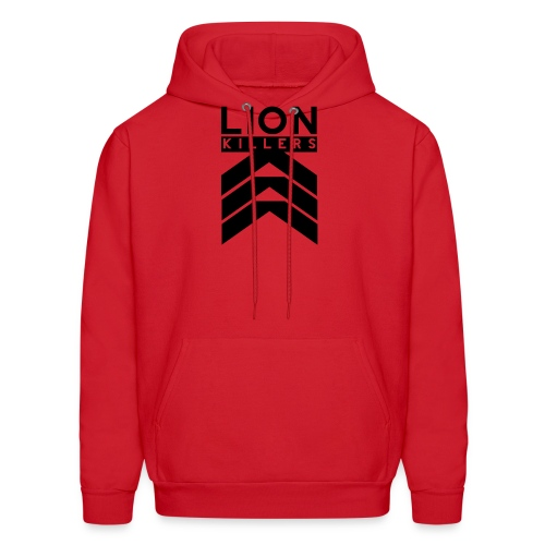 Lion Killers Logo - Red Range - Men's Hoodie