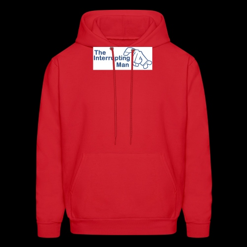 The Inturrepting Man - Men's Hoodie