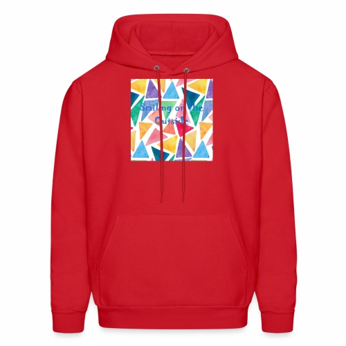 Smiling On The Outside - Men's Hoodie