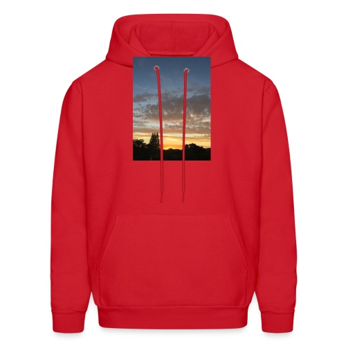 nuclear sunset - Men's Hoodie