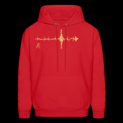 Sound Wave Arrow - Men's Hoodie
