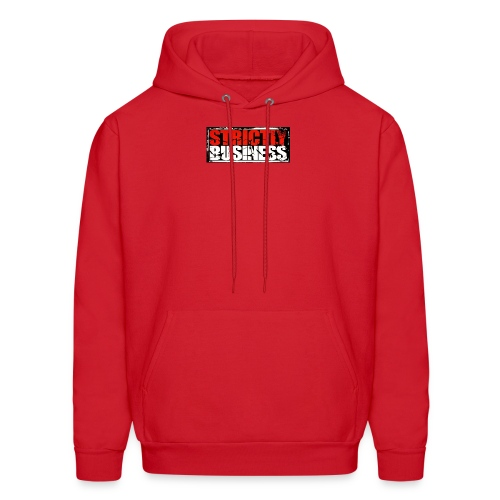 Strictly Business Productions Music Group Logo - Men's Hoodie