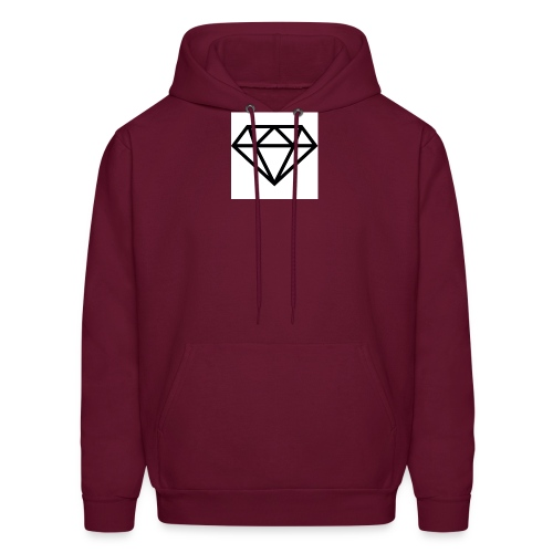 diamond outline 318 36534 - Men's Hoodie