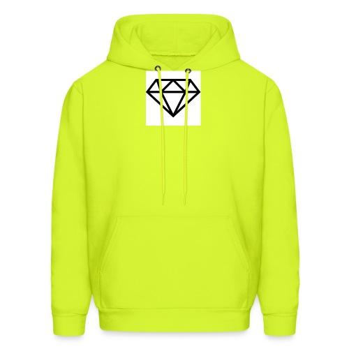 diamond outline 318 36534 - Men's Hoodie