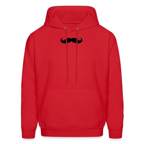 mustache - Men's Hoodie