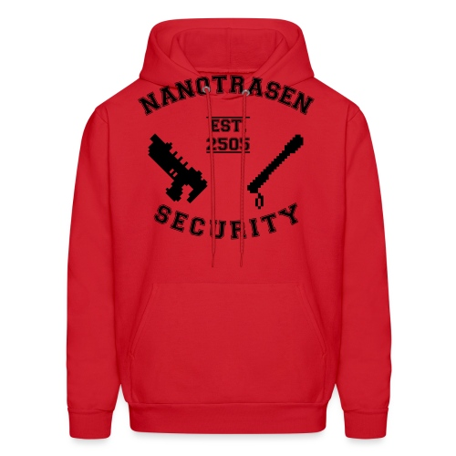 Security Varsity SVG - Men's Hoodie