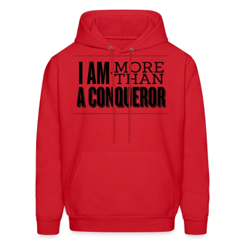 I Am More Than a Conquereor by Shelly Shelton - Men's Hoodie