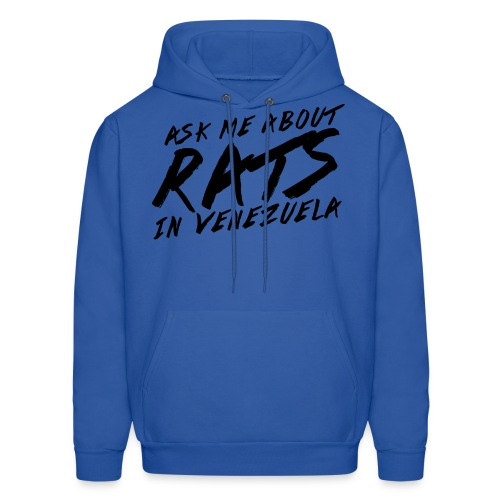 ask me about rats - Men's Hoodie