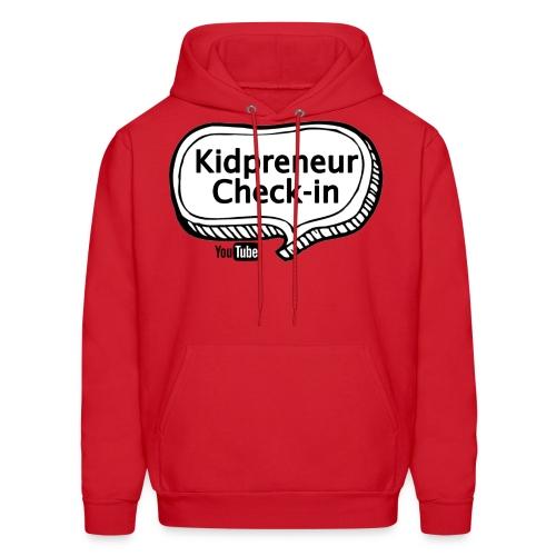 Kidpreneur Check-In Logo - Men's Hoodie