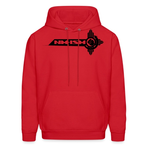 Black NM-ISM Logo - Men's Hoodie