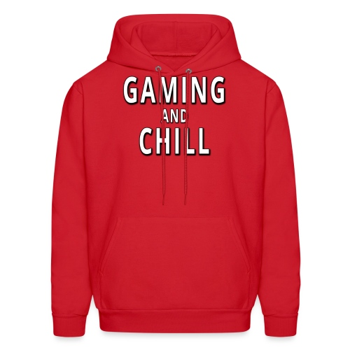 Gaming and Chill - Men's Hoodie