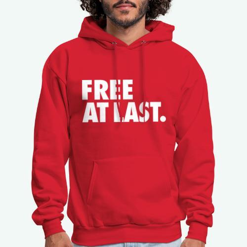 FREE AT LAST - Men's Hoodie