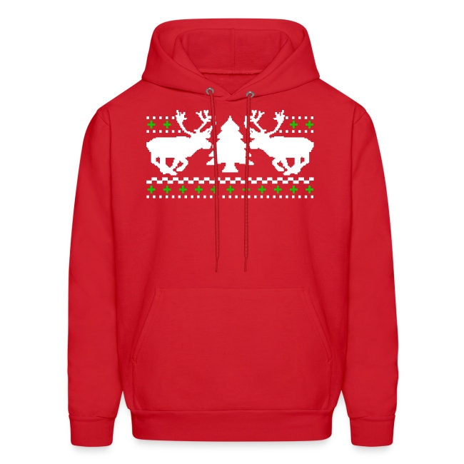 Funny Christmas Sweater.Ugly Christmas Sweater Men S Hoodie