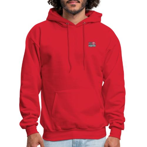 Logo, no text on back - Men's Hoodie