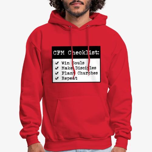 CFM Checklist - Men's Hoodie