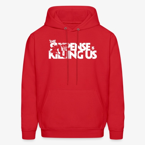 Suspense Is Killing Us White Logo - Men's Hoodie