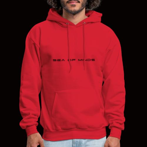 Sea of Minds black - Men's Hoodie